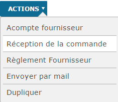 Action-ReceptionCommande